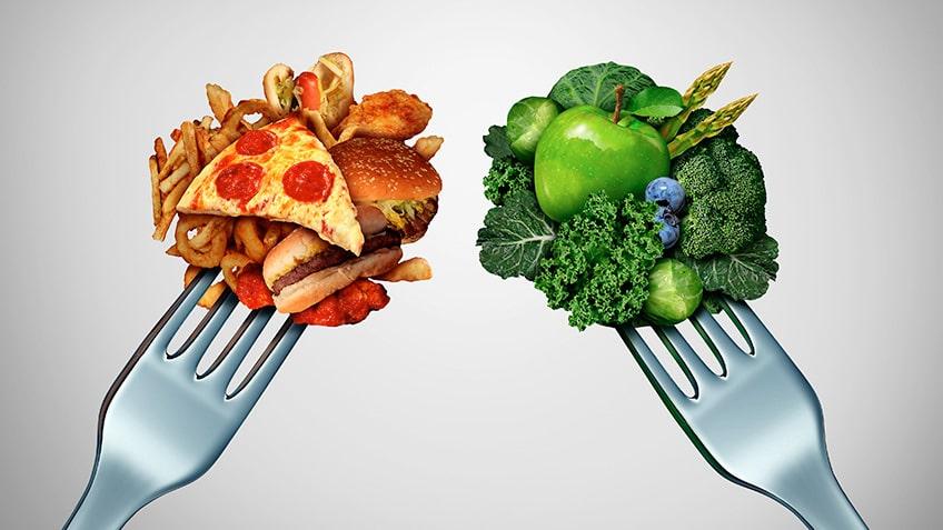 Mantener el peso al hacer dieta